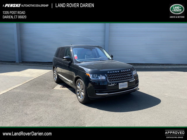 Certified Pre-Owned 2017 Land Rover Range Rover V6 Supercharged SWB
