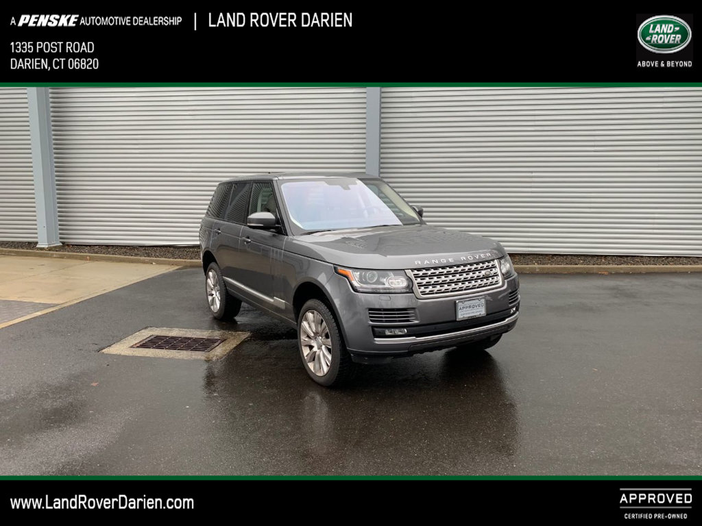 Certified Pre-Owned 2016 Land Rover Range Rover 4WD 4dr Supercharged