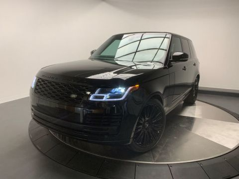 Certified Pre-Owned 2018 Land Rover Range Rover V8 Supercharged SWB